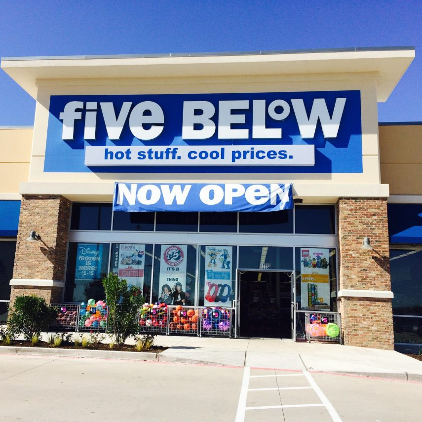 five and below store hours