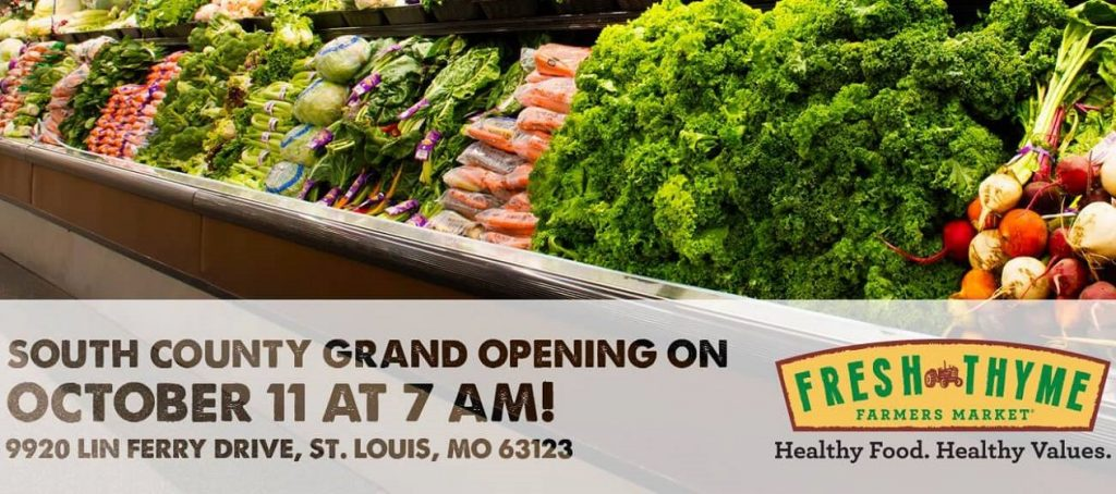 217e1051bb16b6 The Fresh Thyme Farmers Market [represented by L3's Ian Silberman and Craig  Wielansky] chain is opening its newest St. Louis area store in south St.  Louis ...