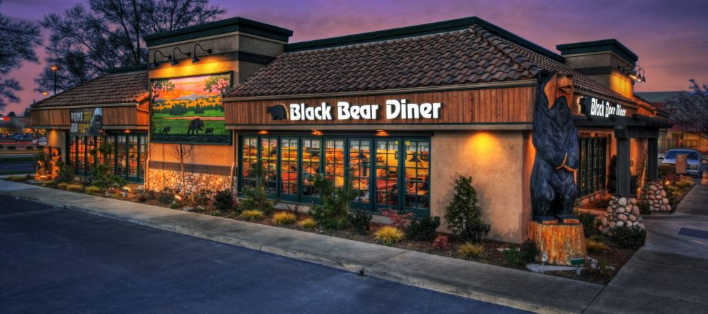 Black Bear Diner Represented By L3s Kevin Shapiro The Fast Growing Family Dining Concept That Offers A One Of A Kind Experience And Home Style Comfort