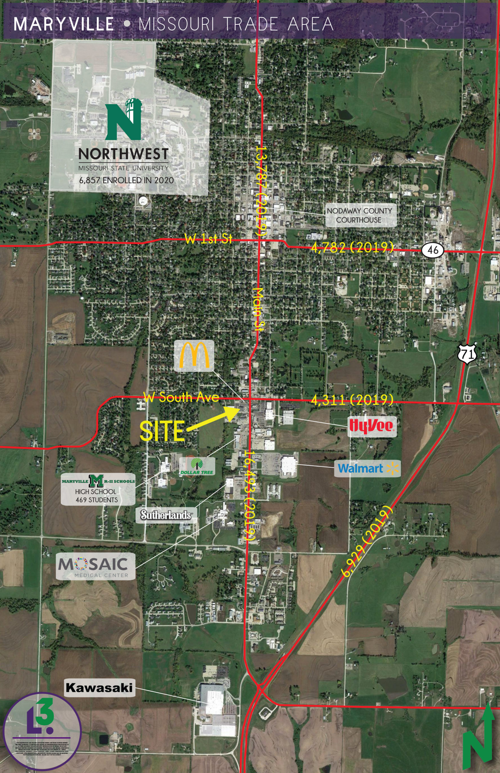 MARYVILLE AERIAL
